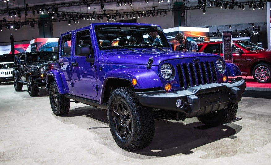 Jeep Wrangler Unlimited series