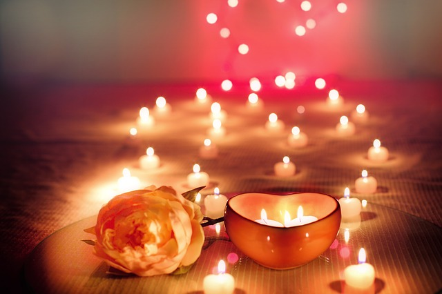 vals day candles