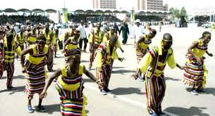 Dancers in Nasarawa State