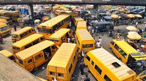 A Motor Park in Lagos State