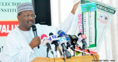 INEC chairman, PVC, Elections