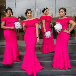 Long Bridesmaid Gowns
