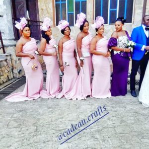 Pink bridesmaid dress pictures