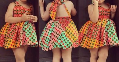 Pictures of Ankara Dresses for Children