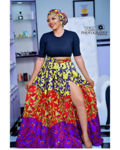 Latest Ankara Skirt