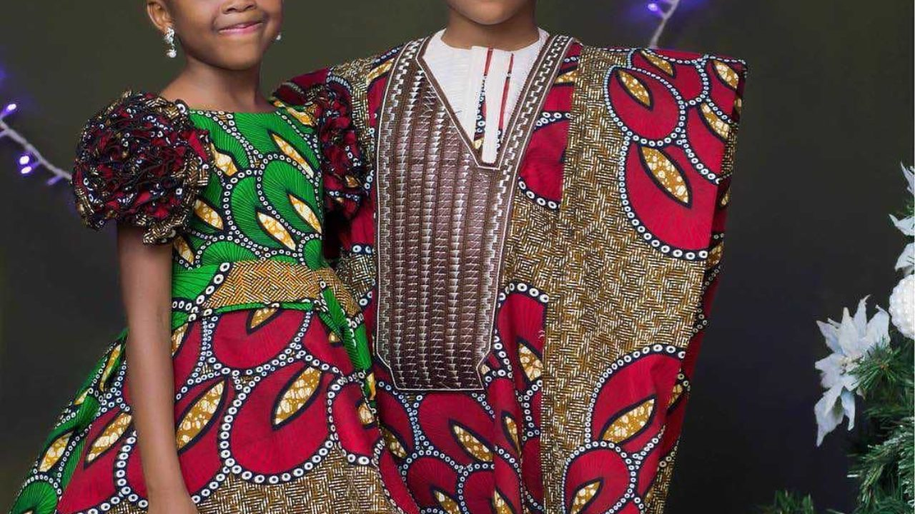 Beautiful Nigerian Traditional Wears For Kids