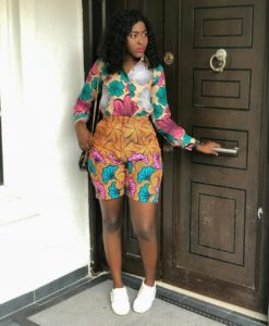 Beautiful Ankara Shorts