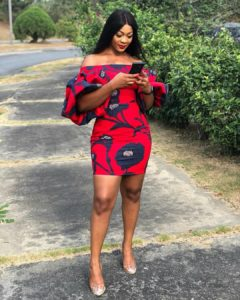 Short Ankara Gown