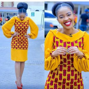 Latest Ankara Gown