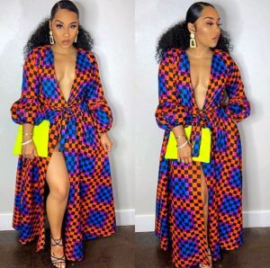 Hot Ankara Gown