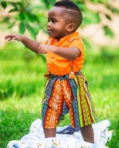 Cute Baby Ankara Styles