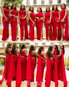 BeBeautiful Nigerian Bridesmaid