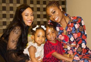 Davido's kids and their mother