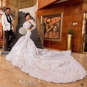 latest nigerian wedding gowns