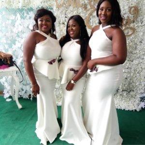 White Bridesmaid Dress Styles