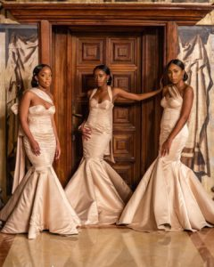 bridesmaid gown styles