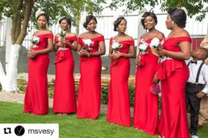 Cool Bridesmaid Styles