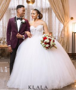 beautiful nigerian wedding gown