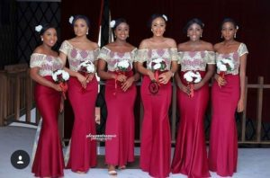 Long Bridesmaid Styles