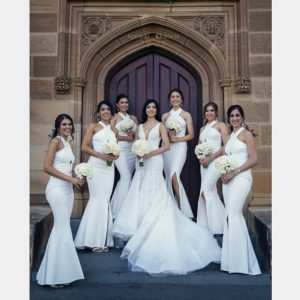 classic bridesmaid pictures
