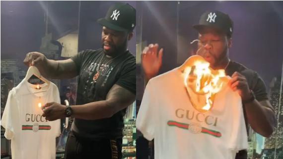 50-Cent-burns-Gucci