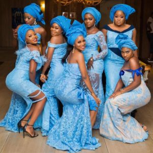 Beautiful Asoebi Dress