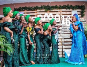 Beautiful Asoebi Style