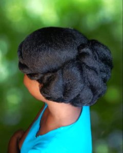 Latest Natural Hair Styles