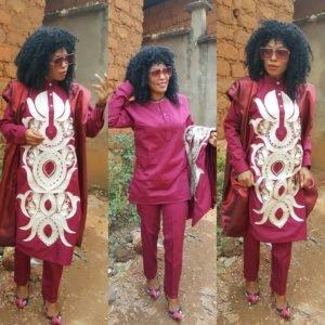 Beautiful Ladies Agbada Styles