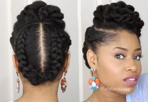 Lastest Natural Hair Styles