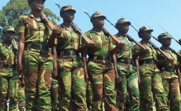 zimbabwe soldiers wedding