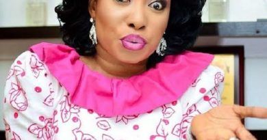 Lizzy Anjorin Calls Ogun To Kill Fan Who Accused Her Of Refusing To Help Dying Baba Suwe