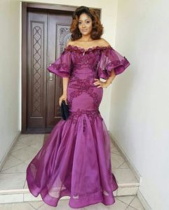 Latest Lace Gowns