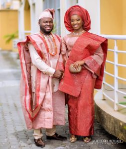 Latest Yoruba Wedding Dress