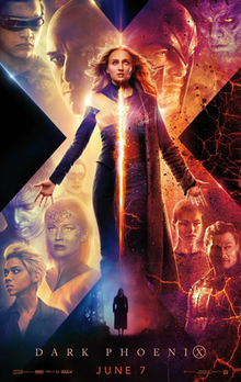 Dark Phoenix, X-Men series, 2019 Movies