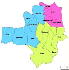 Map of Zamfara State