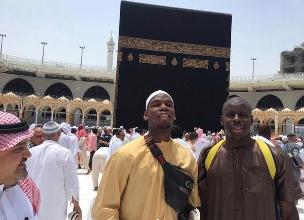 Paul Pogba And Kurt Zouma In Mecca