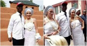 Ned Nwoko and Moroccan Wife, Lina