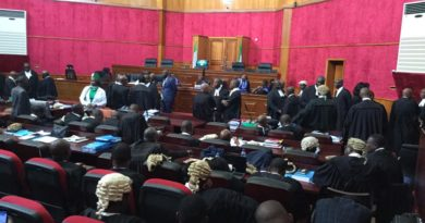 The 2019 Presidential Election Petition Tribunal Panel