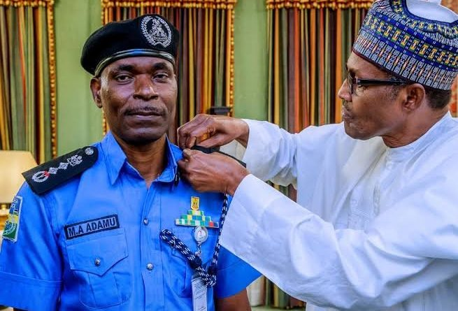 Buhari and IGP Adamu