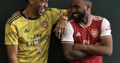 Aubameyang and Lacazette