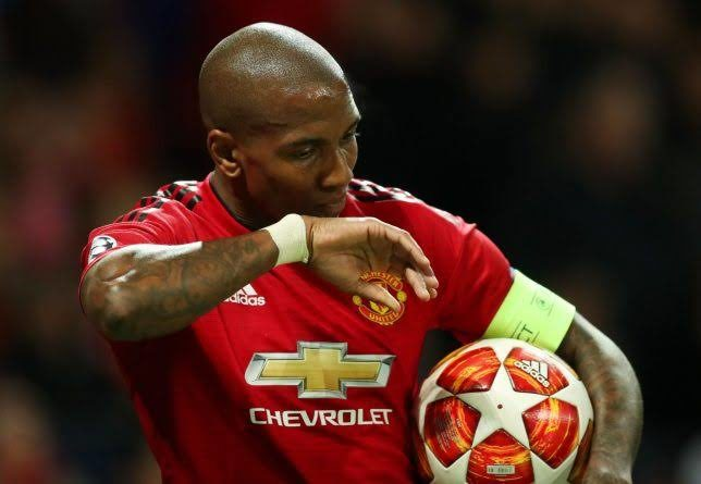 Captain Ashley Young