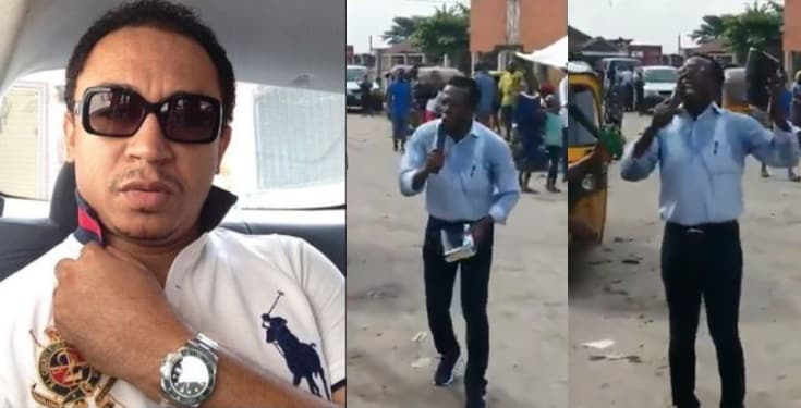 Daddy Freeze reacts to billionaire Cosmas Maduka preaching on the street