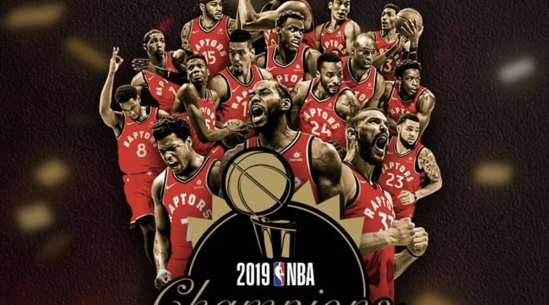 Toronto raptors Claim NBA ring