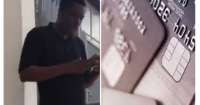 Man's funny reaction after ATM swallowed his debit card