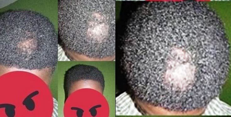 Nigerian boy reveals what his mom did to his hair overnight