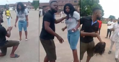 Man beats up girlfriend for turning down proposal in Uniben