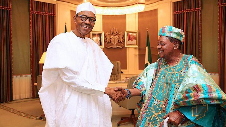 Alaafin and Buhari