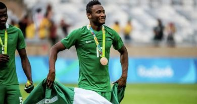 Mikel Obi Retires From International Football