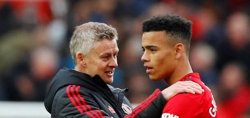 Greenwood and Solskjaer